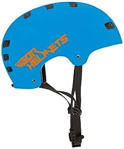 VIGOR AUDIO HELMETS Bluetooth Bucket Helmet Sm/Md Socal Sunrise, Blue