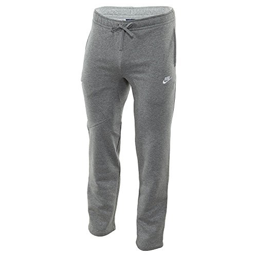 Mens Fleece Open Leg Pant - Nike M NSW OH FLC PKT CLUB PANT #823513-063 (3XL)