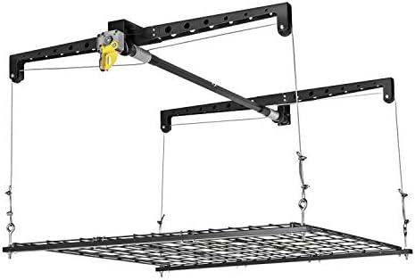 Racor - PHL-1R Garage Ceiling Storage Rack Lift