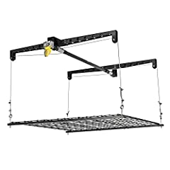 With the Racor Ceiling Storage Heavy Lift you can create 16 square feet of additional storage space without compromising floor or wall space. The Ceiling Storage Heavy Lift gives you a convenient storage solution for all of those bulky items ...