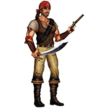 Beistle 50473 Jointed Swashbuckler, 3-Feet 2-Inch