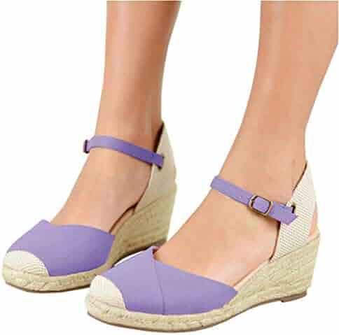 502e8a6251e51 Shopping Purple - 3 Stars & Up - Platforms & Wedges - Sandals ...