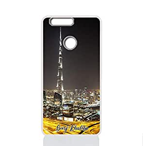 IMPRESS HUAWEI HONOR 8 Hard Case with Burj Khalifa Design