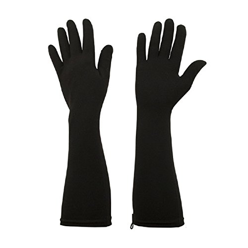 Foxgloves Elle Gloves (Crow Black, Medium) by Foxgloves