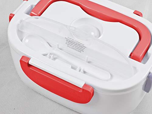 BEPER - Scaldavivande Elettrico Portatile, 2 Contenitori Removibili, Piastra Riscaldante in Acciaio, Posate di Plastica… 2