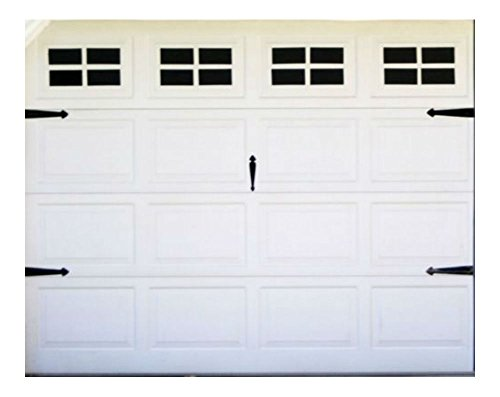 FAKE WINDOWS FOR YOUR GARAGE DOOR CARRIAGE HOUSE STYLE for standard single door