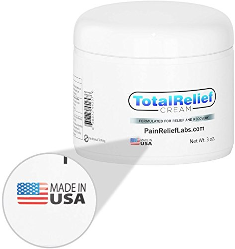 Best Pain Relief Cream 3oz - Arnica Topical Analgesic for Lower and High Back | Knee | Hip | Neck | Foot | Sciatica | Joint | Nerve | Muscle Aches | Arthritis | Fibromyalgia | Anti Inflammatory (Topical Analgesic Cream Relief)