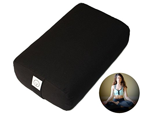 Organic Yoga Bolster – Buy 1, Get 2nd 50% off (Black)