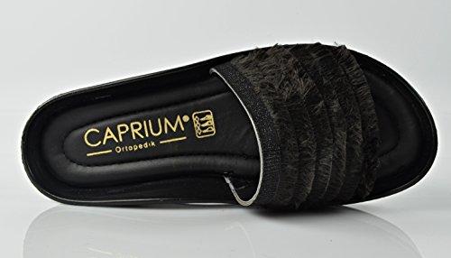 CAPRIUM Femme Modell Mules Grau 2 SrwSgUqa