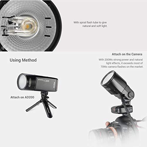 Godox Witstro H200R Round Flash Head for AD200 200Ws 2.4G TTL Flash Ring Flash Head with Storge Box by Godox (Image #5)