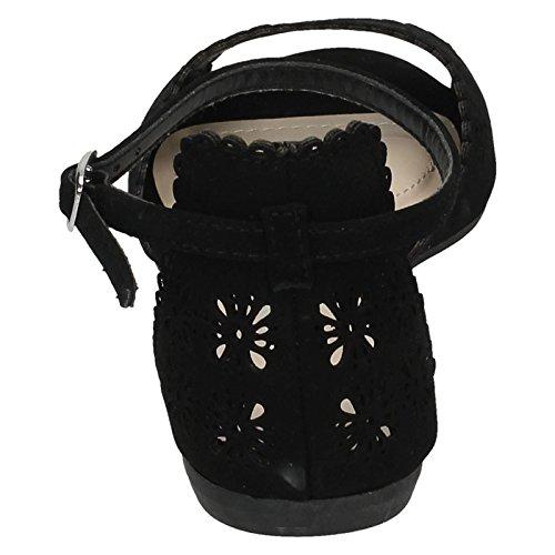 Spot On ,  Damen Knöchelband Schwarz