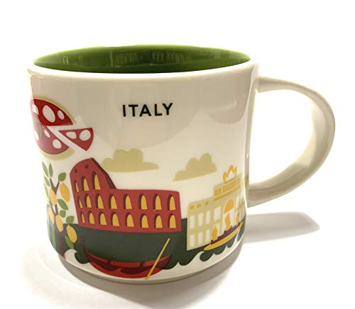 Starbucks Italy You Are Here YAH Coffee Mug for sale  Delivered anywhere in USA
