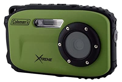 Coleman Xtreme C5WP 12 MP 33ft Waterproof Digital Camera from Elign