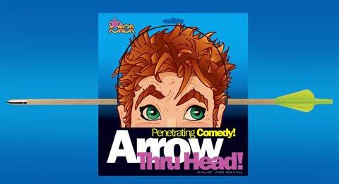 Arrow Thru Head Costume Prop (1 per package) -