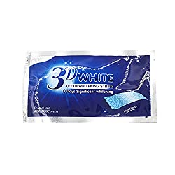 1Box 3D Teeth Whitening Strips Kit Professional Effects Mint Flavor Whitestrips 14 Treatments Express Whitening Dental Teeth Care