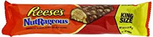 Reese's NutRageous Candy Bar, 3.4-Ounce Bar (Pack of 18)
