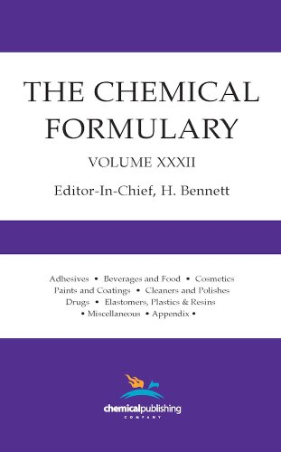 The Chemical Formulary, Volume 32