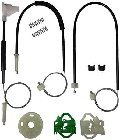 Delantero derecho Vario Bossmobil CORDOBA kit de reparaci/ón de elevalunas el/éctricos 6K2, 6K1