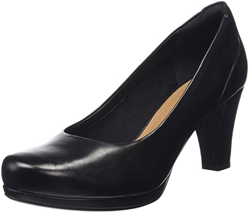 cheap sale from china Clarks Women's Chorus Chic Closed-Toe Pumps Black (Black Leather) for sale top quality pay with paypal online free shipping best wholesale cheap footlocker pictures UT23RW1Me