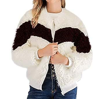 Amazon.com: DICPOLIA Women Winter Casual Long Sleeve Zipper ...