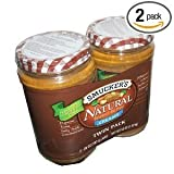 Smuckers Natural Creamy Peanut Butter Non Hydrogenated Healthy Snack 26 Ounce Jars (Pack of 2) Review