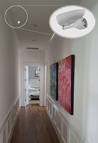 wireless art lighting. Method Lights ML200 Wireless Picture Light Fixture With Remote Control, Art Lighting Lamp, Modern,White