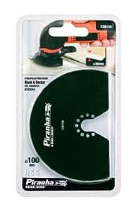 Black&Decker X26120-XJ - Hoja segmentada de madera, metal y plástico 30mm