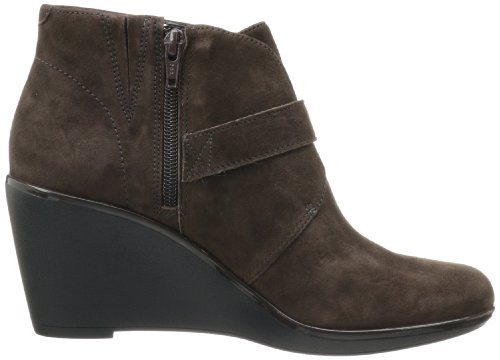 Brown Surety Ankle Dark Clarks Women's Daylily 6wYqEnHX