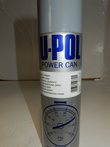 U-Pol Power Can Gray Primer, 15 oz GB Grey Professional for sale  Delivered anywhere in USA
