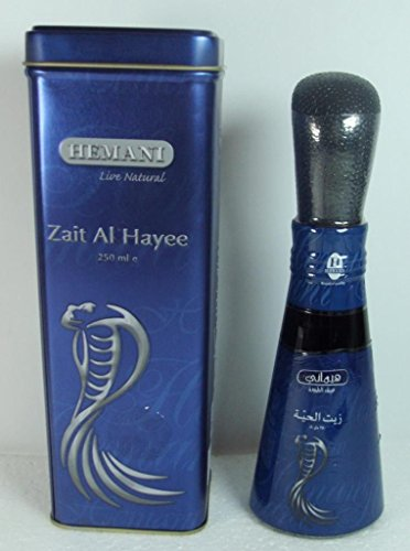 2 PCS Hemani 250ml natural 100% snake oil for hair care a...
