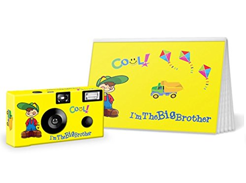 I'm the Big Brother / Big Sister Disposable Camera and Photo Book Gift Set (I'm the Big Brother) by Custom Camera Collection