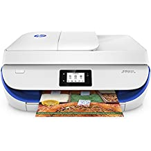 """HP 4650 OfficeJet Wireless All-in-One Photo Printer with Mobile Printing Instant Ink ready 2.2"""" Blue"""