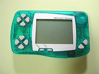 WonderSwan Skeleton Green Handheld Console ~ B&W/Monochrome Display (Japanese Import Video Game System)