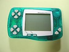 WonderSwan Skeleton Green Handheld Console ~ B&W/Monochrome Display (Japanese Import Video Game System)