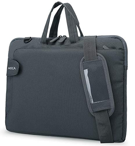 MOCA Compatible Laptop Sleeve Hand Shoulder Messenger Bag for 13/13.3 inch Laptop Messenger Hand Bag Sleeve (Grey)