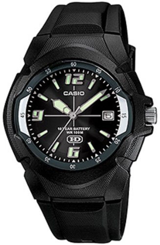 Casio #MW600F-1AV Men's 100M HD Series Sports Watch with Date