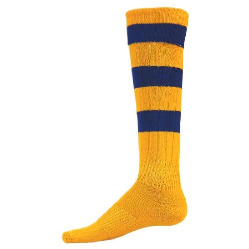 Red Lion Big Stripe Stretch Nylon Athletic Socks