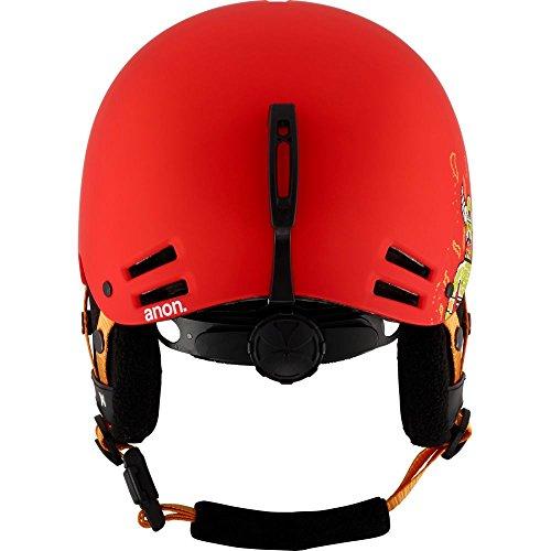 Anon rime casque de snowboard pour garçon 8Bit Red