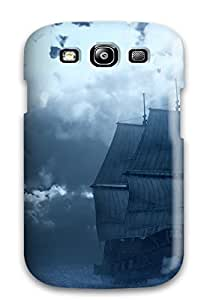 Cynthaskey Galaxy S3 Well-designed Hard Case Cover Naval Military Ship Sails Man Made Military Protector