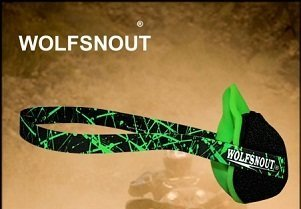 Wolfsnout All Sport Dust Mask Green