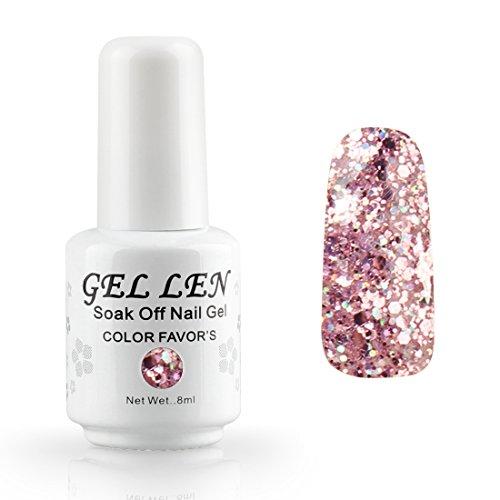 Gellen auflösbarer Nagellack Shellac UV Led nagellack Farblack 8ml 300