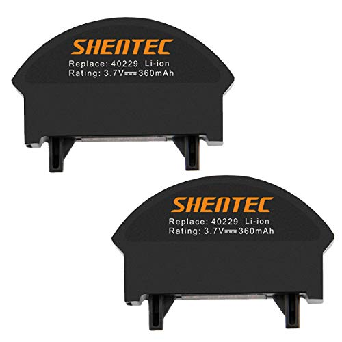 Shentec 2 Pack 3.7V 360mAh QC3 Battery Compatible with Bose QuietComfort 3 Headphones 40229 NTA2358 Lithium-ion