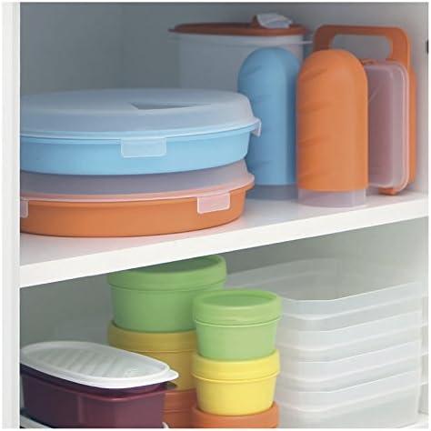 Lote de 3 Contenedores Portafruta TATAY en Pl/ástico PP Libre de BPA de 0.2L Ideal para fruta Snacks o Papilla Colores Surtidos