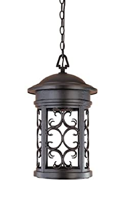 Designers Fountain 31134-ORB Ellington-DS Hanging Lanterns, Oil Rubbed Bronze