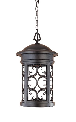 - Designers Fountain 31134-ORB Ellington-DS Hanging Lanterns, Oil Rubbed Bronze