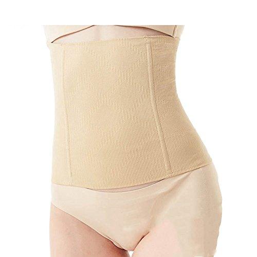 MZjJPN Women Waist Trainer Corset Cincher Steel Boned Seamless Tummy Control Belt Shapewear Slimmimg Workout Body Shaper apricot XXXL