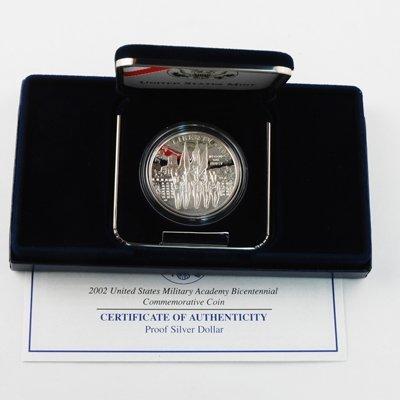 - 2002 W West Point Silver Dollar - Proof Dollar Proof US Mint