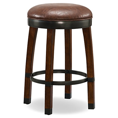 Leick 10118SN/SB Favorite Finds Counter Height Stool by Leick Furniture