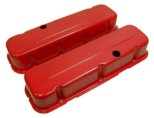 (1965-95 Compatible/Replacement for CHEVY BIG BLOCK 396-427-454-502 TALL STEEL VALVE COVERS -)