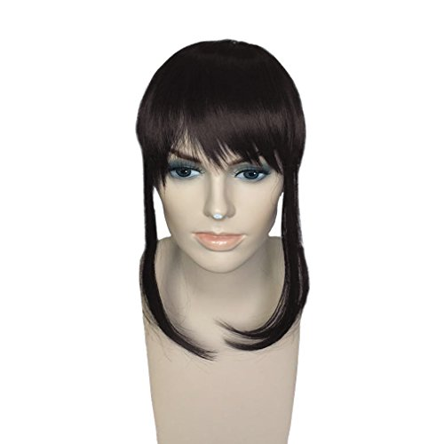 Synthetic Clip in Front Hair Bangs Fringe Extensions by Namecute (F6062-#4) by Namecute
